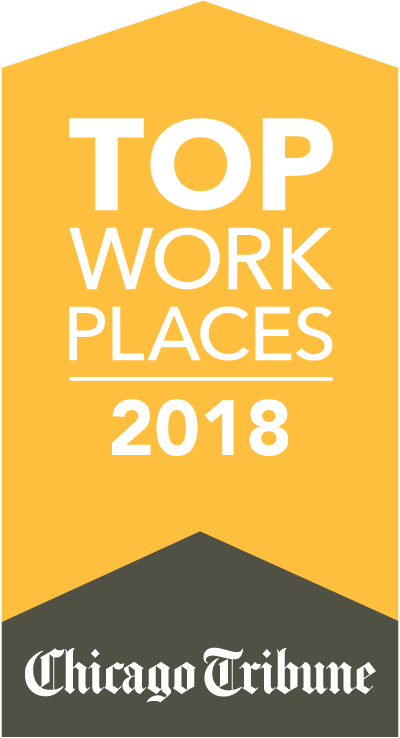 Chicago Tribune - Top Workplaces 2018